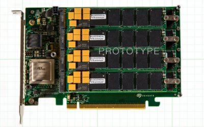 Seagate muestra el futuro de los SSD: 64 TB de capacidad, 13 GB/s de velocidad de transferencia