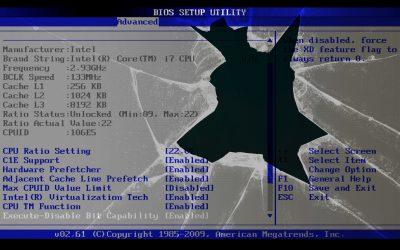 Se acerca el fin de BIOS: Intel eliminará el soporte en 2020