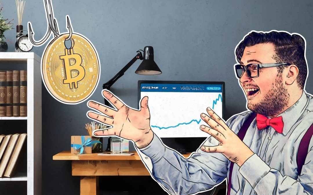 El phishing en criptomonedas: así roban los bitcoins